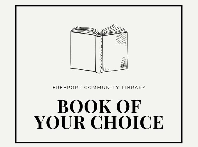 Book of your choice promo logo