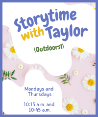 Outdoor Storytime with Taylor